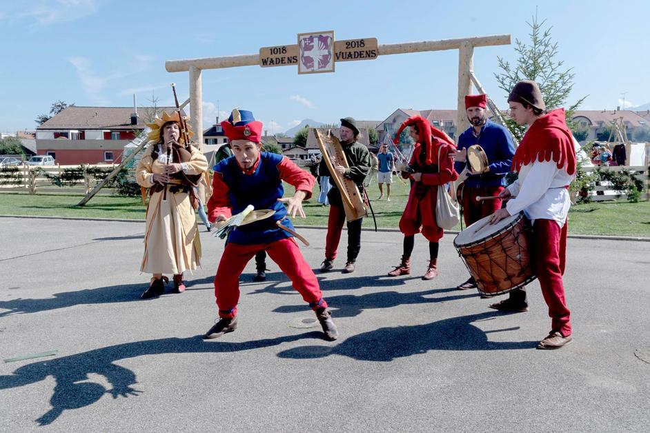 Vuadens fête ses 1000 ans