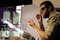 Quand le travail du verre devient art