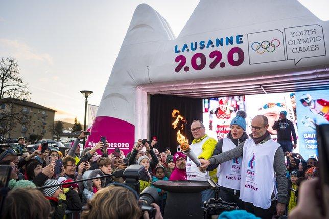 JOJ Lausanne 2020 © keystone