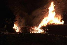 Deux incendies à quelques heures d'intervalle
