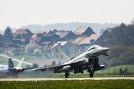 Des vols d'entraînement de l'armée au-dessus de Payerne