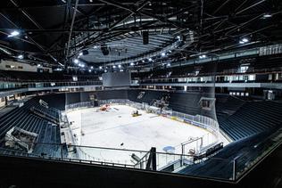 BCF Arena: les travaux avancent