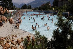 Dernière semaine pour la piscine en plein air de Bulle