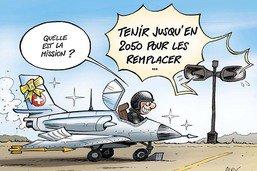 Nouveaux avions militaires: de grandes attentes