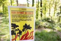 Interdiction de feux prononcée dans plusieurs cantons
