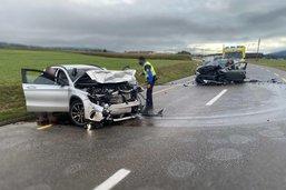 Deux blessés dans un accident à la Tour-de-Trême