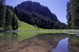 Un lac témoin de l'histoire géologique