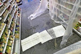 D'importants dégâts après les orages