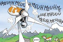 Bientôt des éoliennes fondues dans le paysage fribourgeois