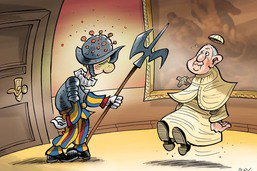 Vatican: gardes du pape positifs au Covid-19