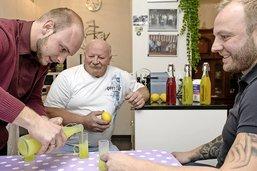 Un père, deux frères et des citrons