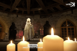 Saint-Nicolas s'est exprimé sur La Télé
