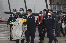 Boeing disparu: débris et de restes humains repêchés