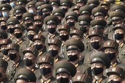 Parade militaire à Pyongyang après le congrès du parti