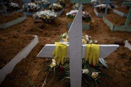 Nouveau record de décès en 24h au Brésil, 60'000 morts en Colombie