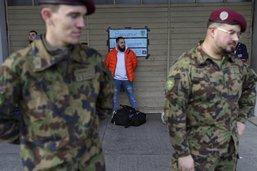 Arrivée massive de soldats à Fribourg