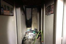 Immeuble évacué après un incendie à Morat