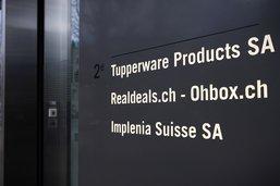 Olivier Curty a été informé du départ de Tupperware