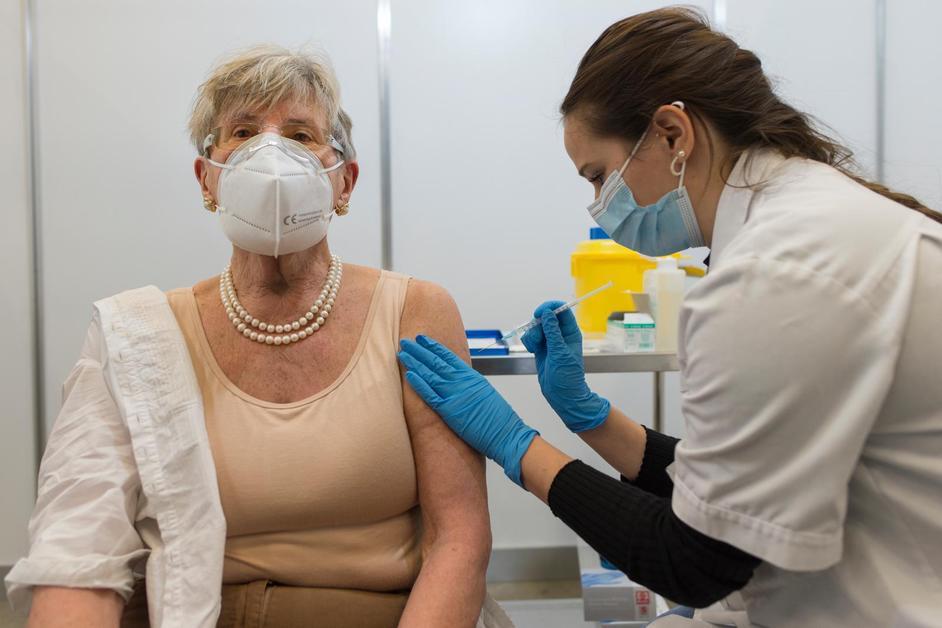 On vaccine à Forum Fribourg