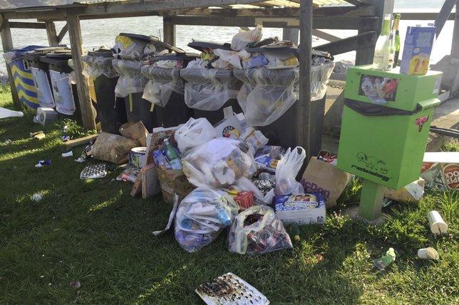 Une montagne de déchets qui agace