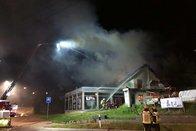 Incendie nocturne dans une entreprise de Givisiez