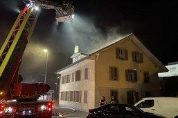 Début d'incendie dans un immeuble à Marly