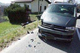 Un motard grièvement blessé à Chevrilles