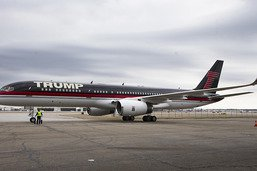 Le Boeing Trump rénové pour de futures réunions électorales
