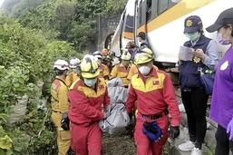 Le pire accident ferroviaire de Taiwan