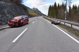 Trois blessés dans un accident aux Sciernes d'Albeuve