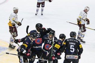 Fribourg impeccable contre Genève, Malgin libère le LHC