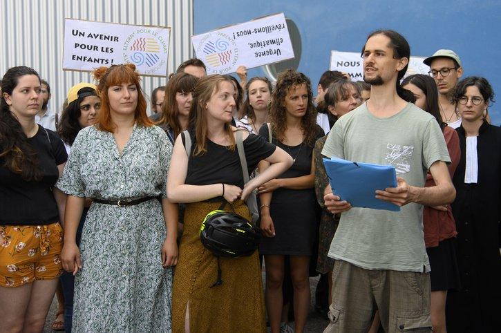 Les activistes et leurs avocats réagissent au verdict