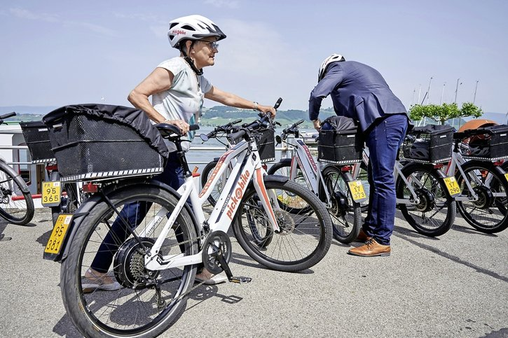 Nouvelle offre d'e-bikes à louer
