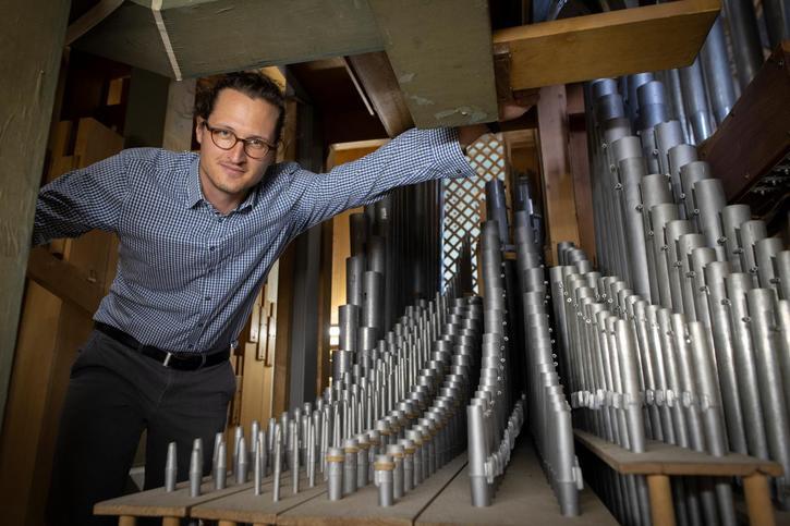 Cyril, mathématicien-organiste