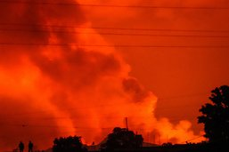 Eruption du Nyiragongo: Goma épargnée, les habitants inquiets