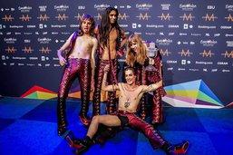 Eurovision: le chanteur du groupe italien ne s'est pas drogué