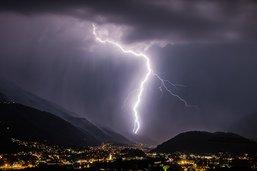 Une partie de la Suisse balayée par de fortes précipitations