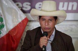 Le candidat de la gauche, Pedro Castillo, élu président du Pérou
