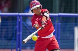 Début de la première épreuve sportive avec le tournoi de softball