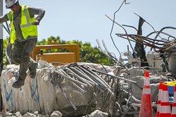 Effondrement d'un immeuble en Floride: dernière victime identifiée