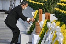 Le Japon commémore les 76 ans de la bombe de Hiroshima en plein JO