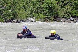 Rafraîchissement dans les rapides