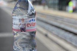 Ruée sur les bouteilles d'eau