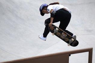 Sakura Yosozumi, première championne olympique de park