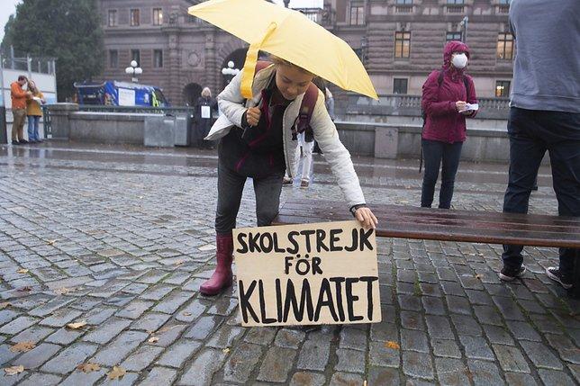 "Greta Thunberg n'attend ""pas de grand changements"" de la COP26"
