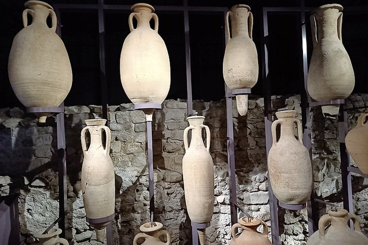 Dans les fondations romaines de Nyon