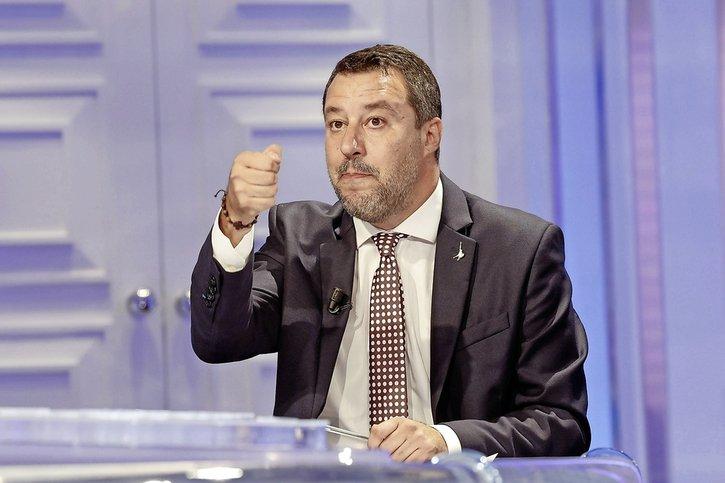 Matteo Salvini au banc des accusés