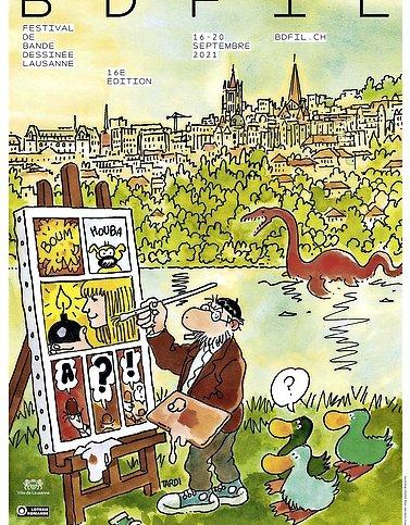 A Lausanne, la bande dessinée reprend le fil