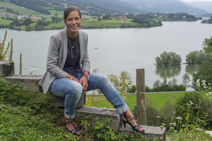 Ilona Chavaillaz: «J'ai une addiction au sport»