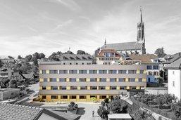 Veveyse: onze millions pour l'ancien hôpital
